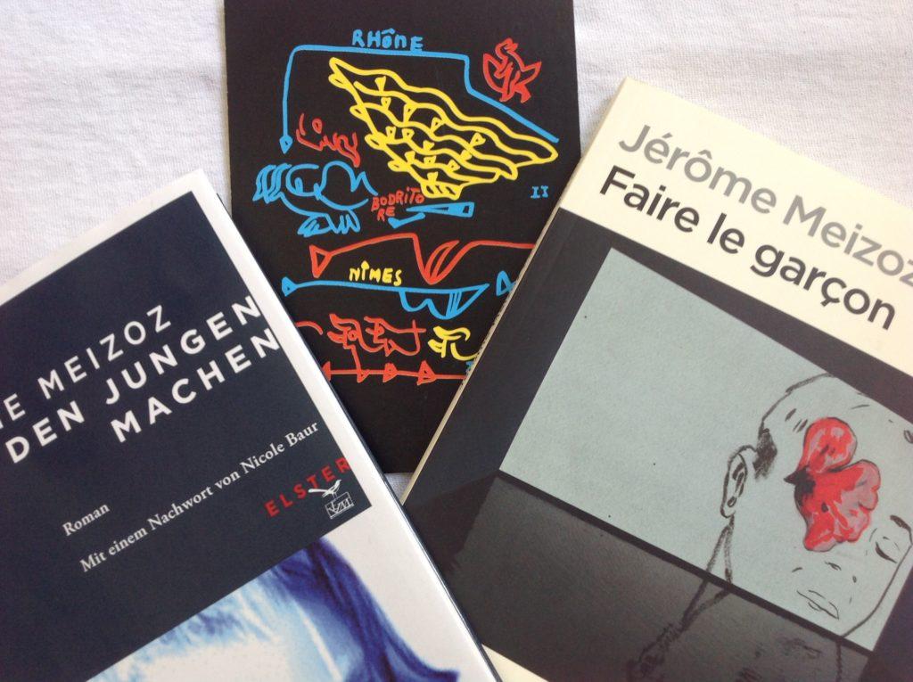 Jérôme Meizoz Den Jungen machen im Wallsi