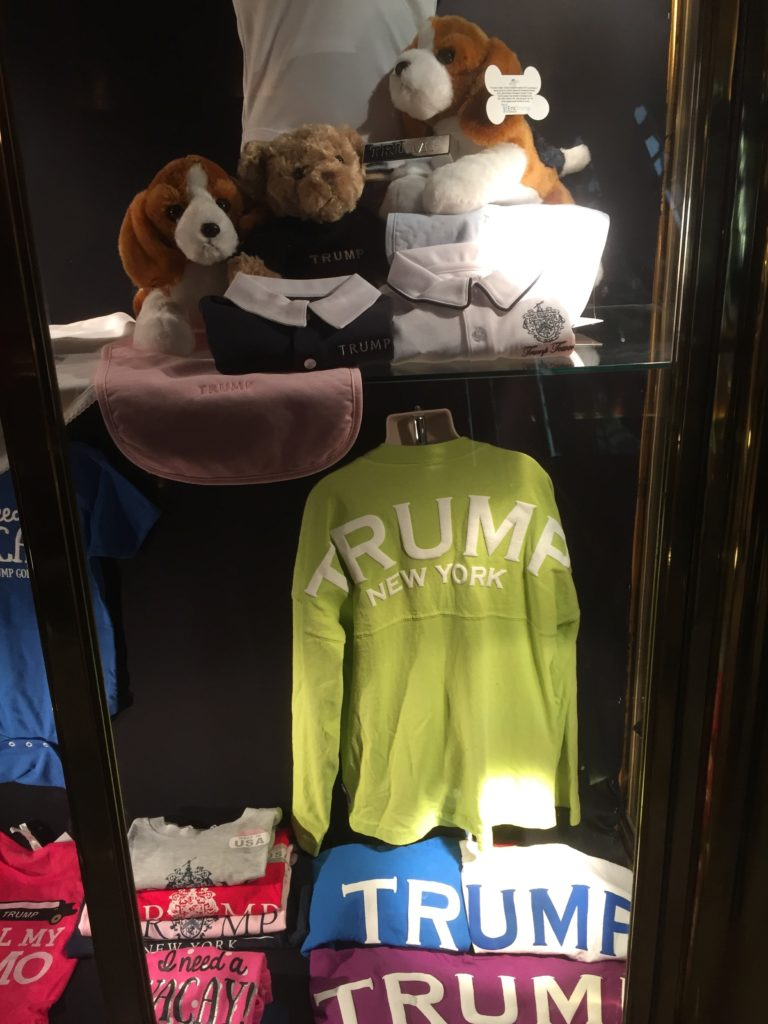 Kiosk im Trump Tower, New York