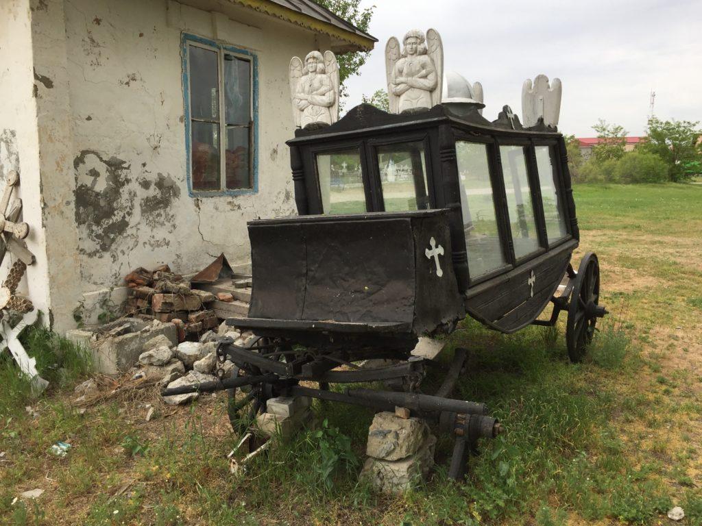 Leichenwagen in Sulina